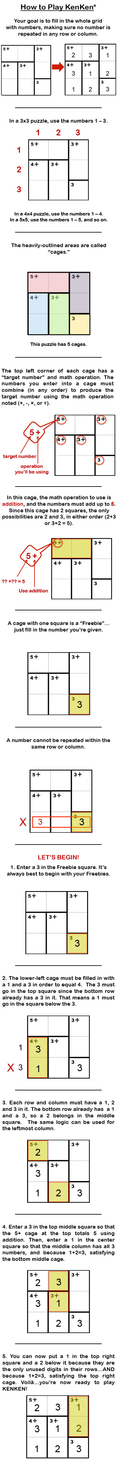 This is an image of Printable Kenken Puzzle within class 4 answer pdf